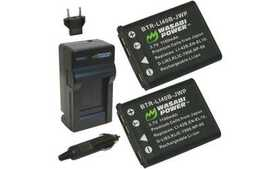 Wasabi Power Battery (2-Pack) and Charger for Koda