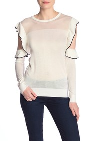 French Connection Lois Cold Shoulder Sweater