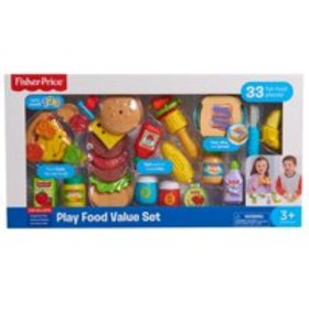 Fisher-Price Play Food Set - 33 Pieces