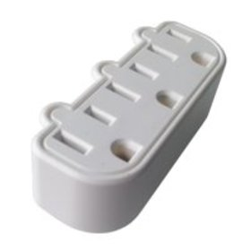 ProHT Wall Tap 3-Outlet Converter, White