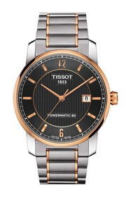 Tissot Men's T-Classic P80 Automatic Two-Tone Brac