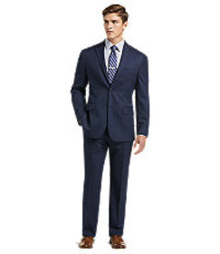 1905 Collection Tailored Fit Herringbone Suit