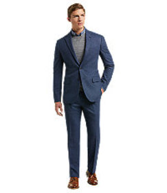 1905 Collection Slim Fit Birdseye Suit with brrr°