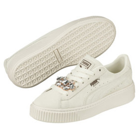 Suede Platform Gem Women's Sneakers