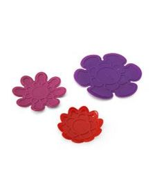 Flora Silicone Trivet Set of 3