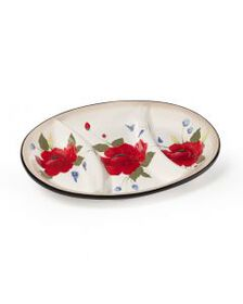 3 Section Oval Tray