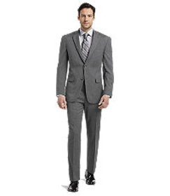 Signature Collection Tailored Fit Pinstripe Suit