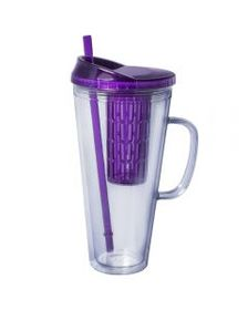 Purple Fruit Infuser with Handle