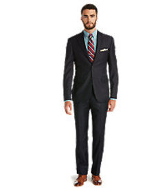 Signature Collection Tailored Fit Solid Pattern Su