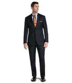 Signature Collection Tailored Fit Pinstripe Suit -