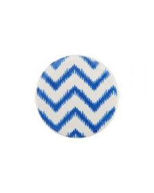 Blue Geometric Coaster