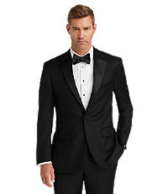 1905 Collection Tailored Fit Tuxedo Jacket - Big &