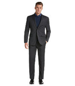 Travel Tech Slim Fit Tic Solid Suit Separate Jacke