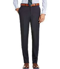 1905 Collection Tailored Fit Flat Front Textured S