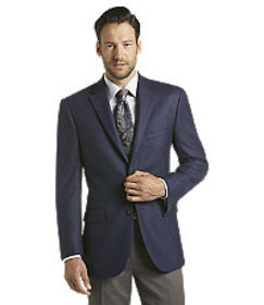 Reserve Collection Tailored Fit Textured Weave Spo