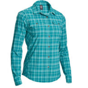 EMS Women's Journey Plaid Long-Sleeve Shirt