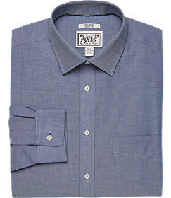 1905 Collection Slim Fit Spread Collar Chambray Dr