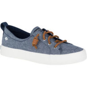 SPERRY Women's Crest Vibe Crepe Chambray Boat Shoe