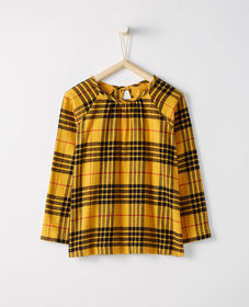 Festive Flannel Top