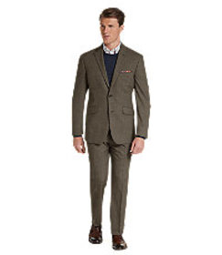 1905 Collection Tailored Fit Houndstooth Suit CLEA