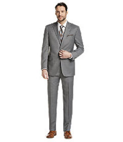 Reserve Collection Tailored Fit Check Suit CLEARAN