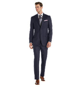 Reserve Collection Traditional Fit Stripe Suit CLE