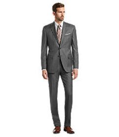Reserve Collection Tailored Fit Stripe Suit CLEARA