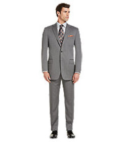 Reserve Collection Traditional Fit Herringbone Sui