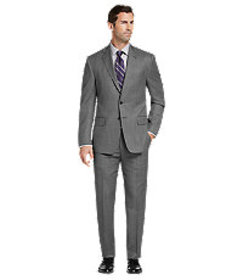 Reserve Collection Tailored Fit Birdseye Suit CLEA