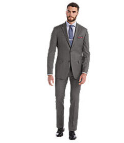 1905 Collection Tailored Fit Plaid Suit CLEARANCE