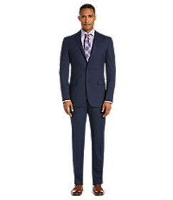 Traveler Collection Slim Fit Stripe Suit CLEARANCE