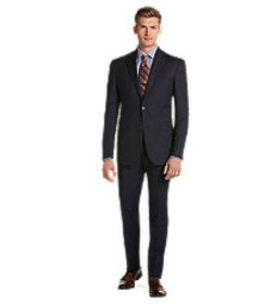 Executive Collection Tailored Fit Tonal Stripe Sui