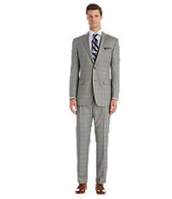 Signature Gold Collection Traditional Fit Plaid Su