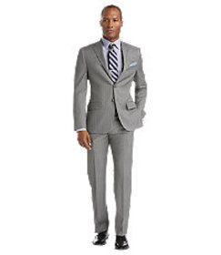 Reserve Collection Slim Fit Stripe Suit CLEARANCE