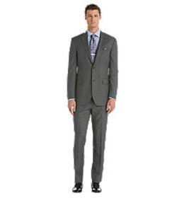 Traveler Collection Tailored Fit Windowpane Sharks