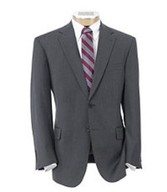 Signature Collection Tailored Fit Herringbone Suit