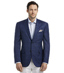 Reserve Collection Tailored Fit Check Windowpane S
