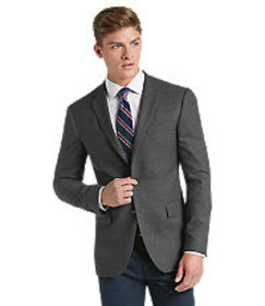 Traveler Collection Slim Fit Micro Check Sportcoat