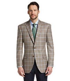 Signature Collection Traditional Fit Windowpane Sp