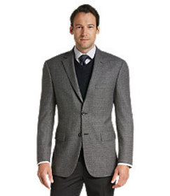 Signature Collection Tailored Fit Grid Check Sport