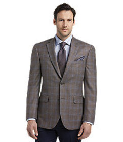 Reserve Collection Tailored Fit Windowpane Sportco