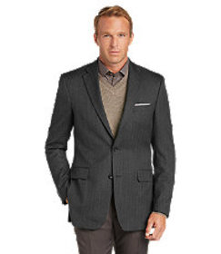 Reserve Collection Traditional Fit Herringbone Spo
