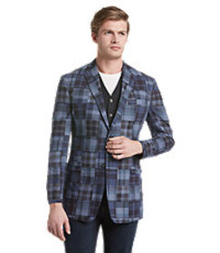 1905 Collection Tailored Fit Patchwork Madras Spor