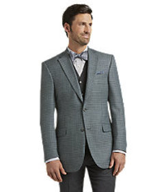 Signature Collection Traditional Fit Blue Check Sp