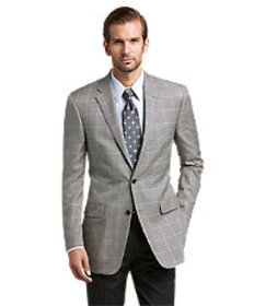 Signature Imperial Collection Regal Fit Windowpane