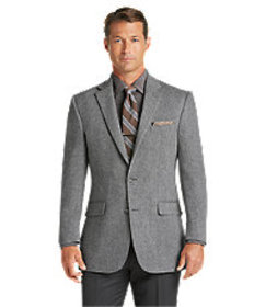 Reserve Collection Traditional Fit Sportcoat CLEAR