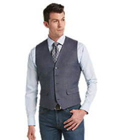 Joseph Abboud Tailored Fit Vest - Big & Tall CLEAR