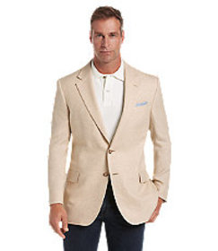 Tropical Blend Tailored Fit Mix Weave Sportcoat CL