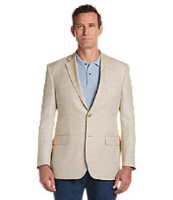 Tropical Blend Tailored Fit Tan Herringbone Sportc