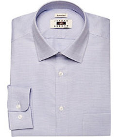 Joseph Abboud Traditional Fit Point Collar Micro W